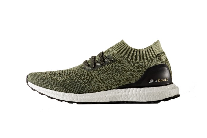 adidas UltraBOOST Uncaged Returns With New Olive, Navy and Sea Blue Colorways