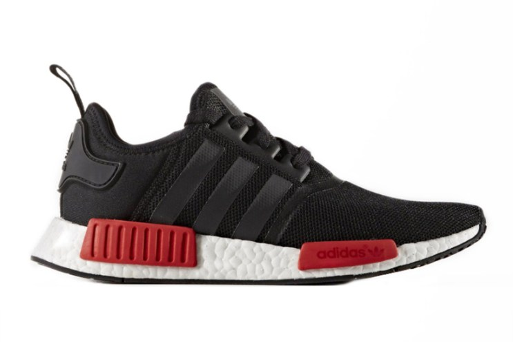 adidas's NMD Silhouette to Release in Wildly Popular Black/Red Color Combo