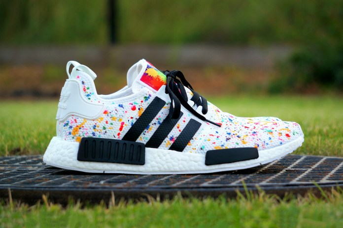 "The adidas NMD Gets Reworked Into a ""Multicolor Splash"" Custom"