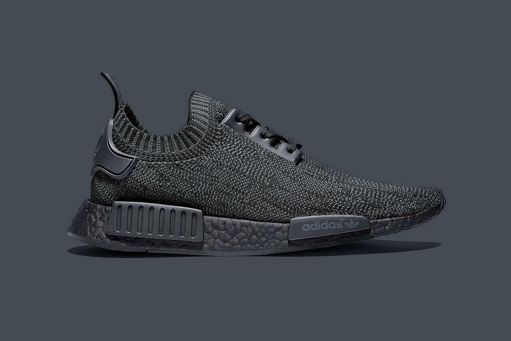 qmdlbf adidas Originals NMD R1 PK Pitch Black Friends and Family | HYPEBEAST