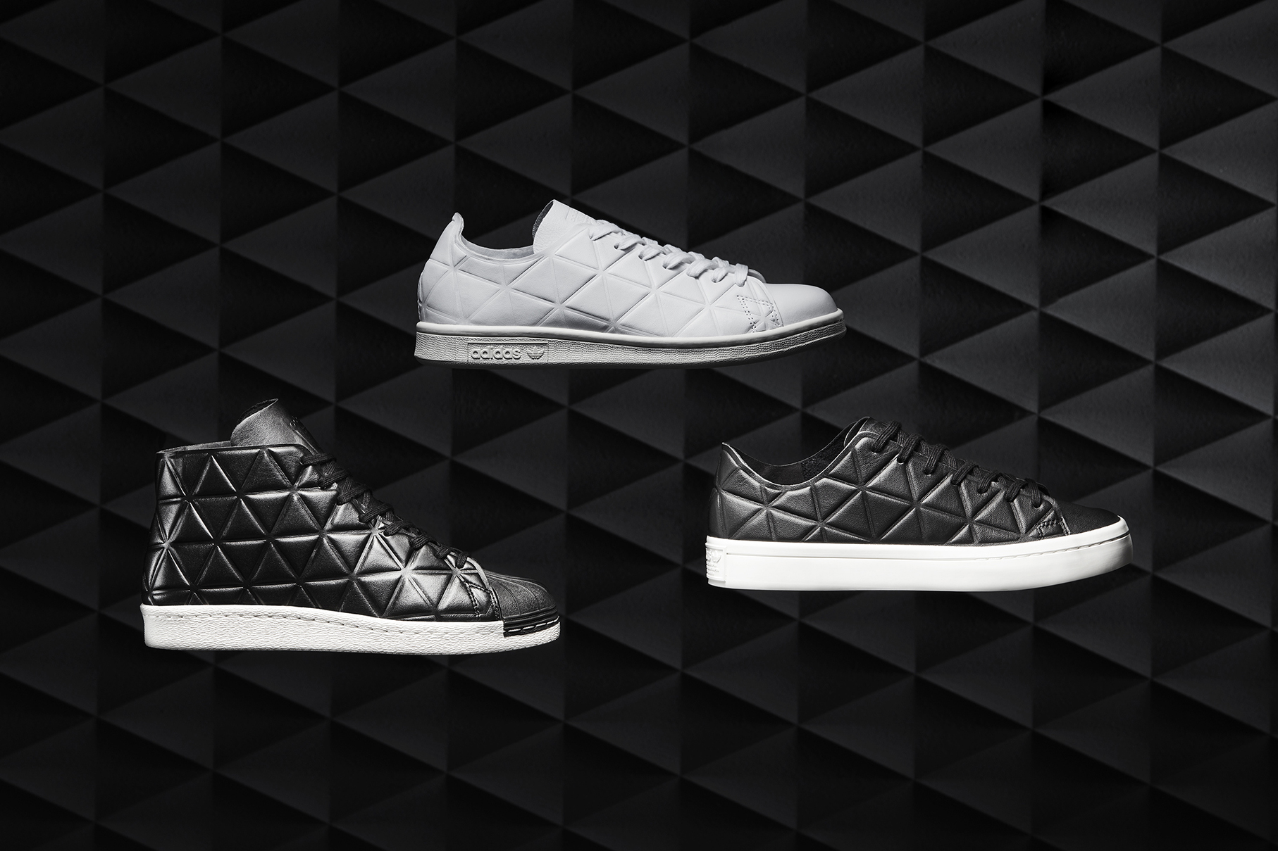 "adidas Originals ""Polygon"" Pack Gives Us a Glimpse Into a Polygonal Future"