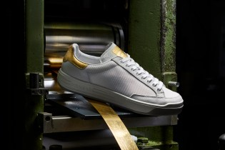 adidas Originals Gives its Rod Laver the 24K Gold Treatment