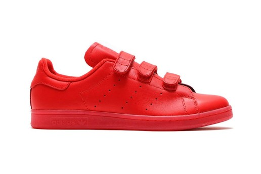 adidas Goes All the Way Red With the New Stan Smith CF