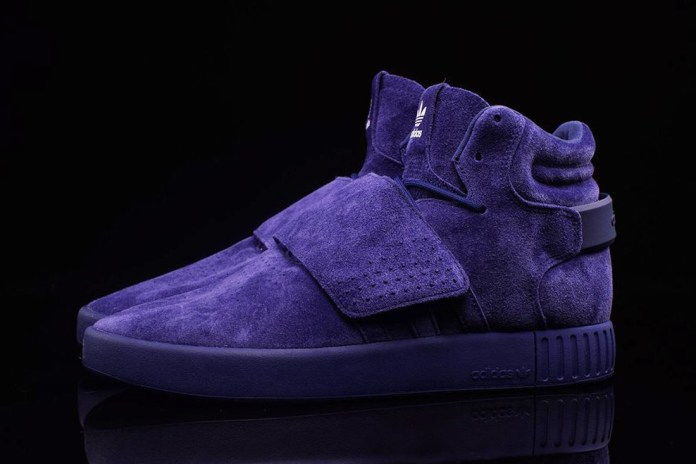 adidas Tubular Invader Gets a Blue Suede Makeover