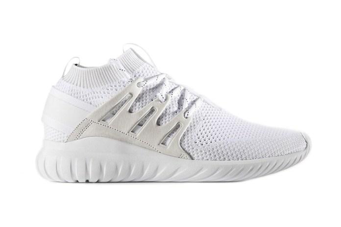 "adidas's Tubular Nova Primeknit Goes ""Triple White"""