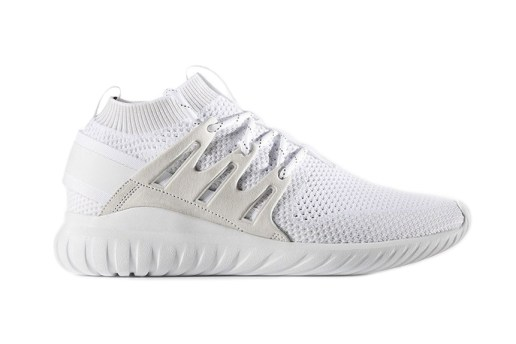 "adidas' Tubular Nova Primeknit Goes ""Triple White"""