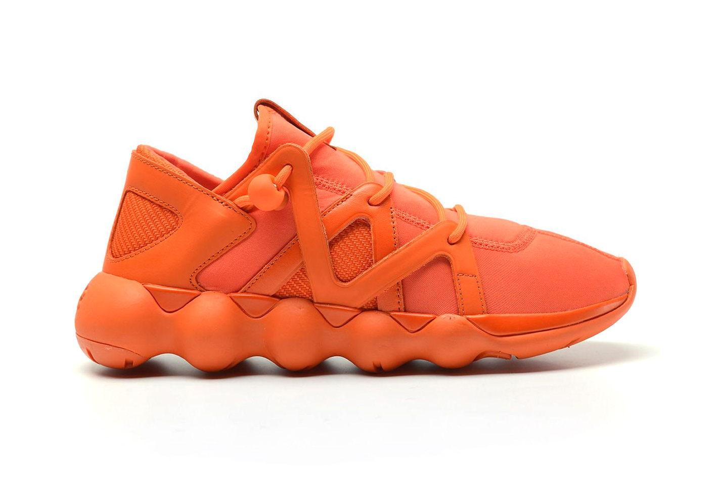 The Y-3 Kyujo Low Gets Doused in Orange