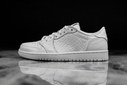 Jordan Brand Dropped an All-White, Swoosh-Free Air Jordan 1