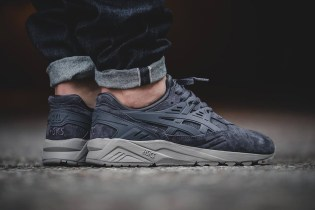 "ASICS Revamps the GEL-Kayano in Subdued ""Concrete Gray"""