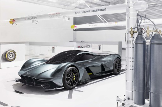 Aston Martin & Red Bull Unveil Their V12 Hypercar