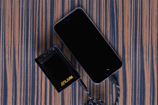 ATILUIM's Power Bank Looks Like a Pager From the '90s