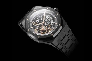 Audemars Piguet's Royal Oak Openworked Gets a Sleek Black Makeover
