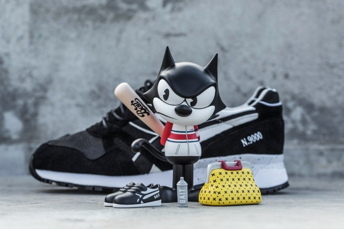 "BAIT x DreamWorks x Diadora ""Felix the Cat"" Collection"