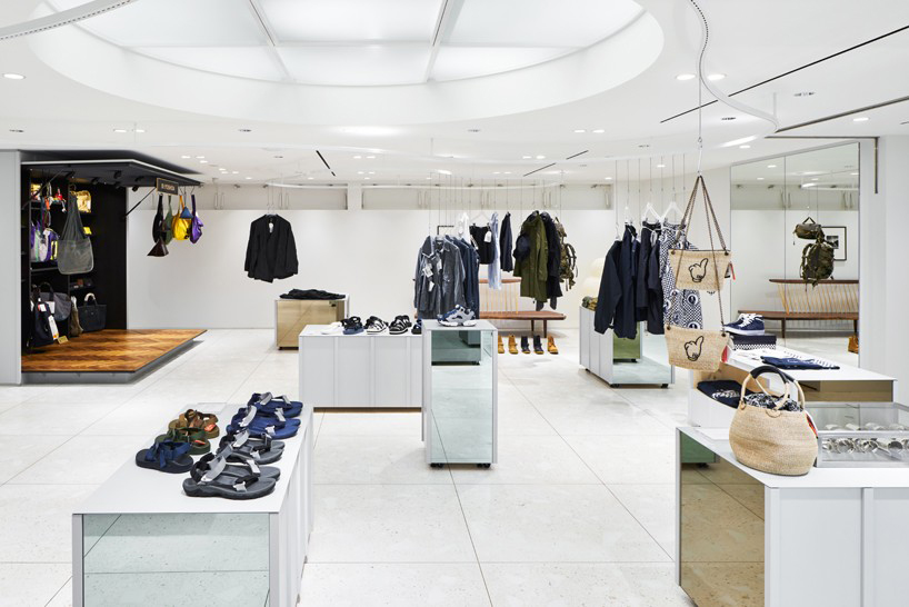BEAMS Boutique Gets a Modular Layout From Torafu Architects