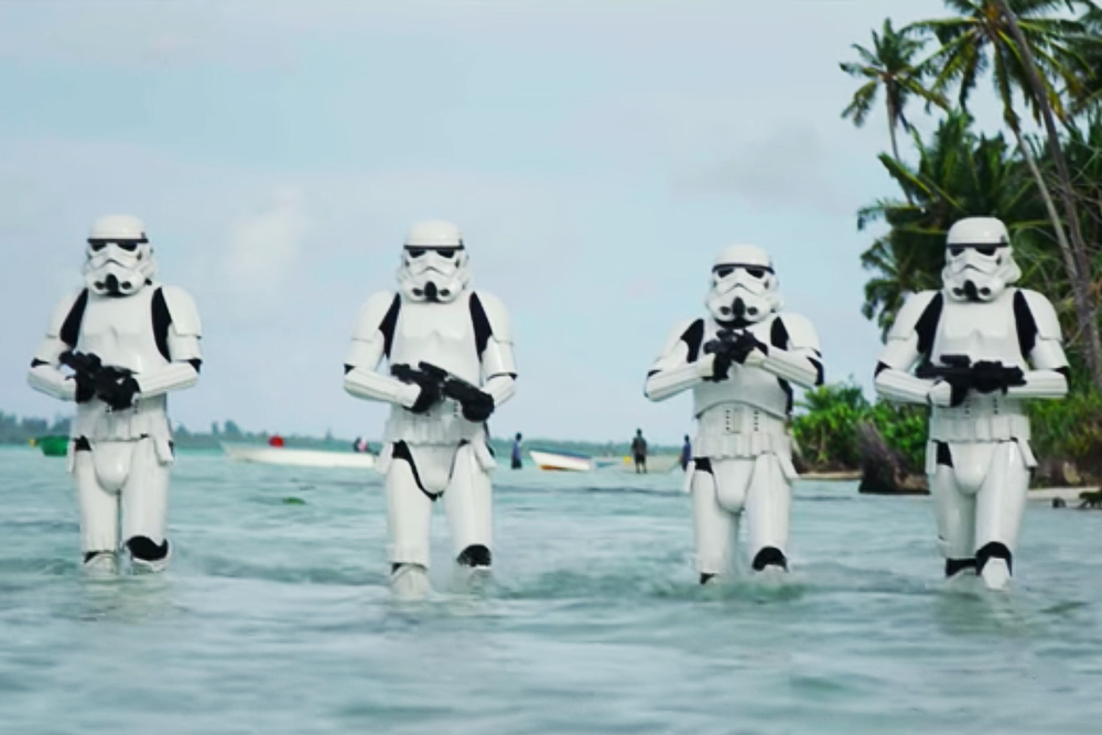 This Behind-The-Scenes Reel for 'Rogue One: A Star Wars Story' Will Give You the Feels