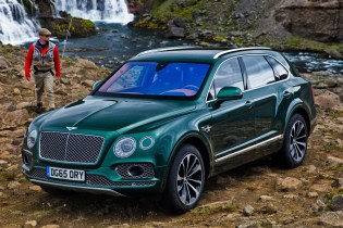 This Bentley Bentayga Takes Fly Fishing Very Seriously