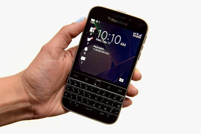 BlackBerry Is Getting Rid of Its Classic Smartphone