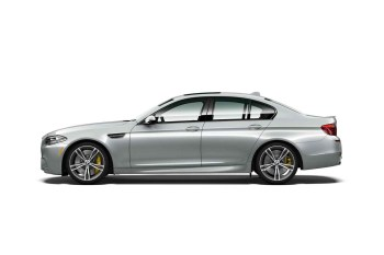 BMW's M5 Pure Metal Silver Edition Has 600 Horsepower and a Special Silver Paint