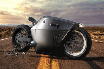 The BMW Radical Is One Monolithic Motorcycle