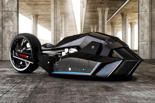 The BMW Titan Concept Motorcycle Is Built Like a Shark