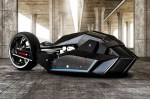 Picture of The BMW Titan Concept Motorcycle Is Built Like a Shark
