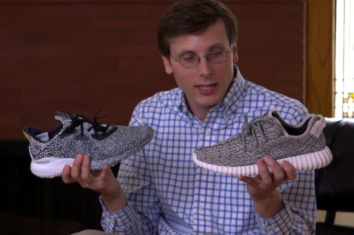 Brad Hall Films Another Awkward Unboxing, This Time With the adidas AlphaBOUNCE