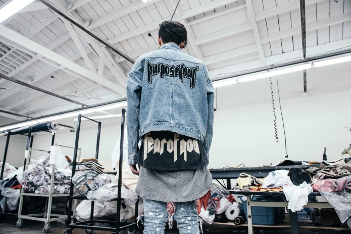 Behind-the-Scenes of Barneys x Justin Bieber's 'Purpose' Tour Collaboration