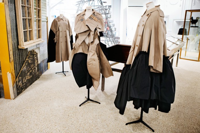 The Iconic Burberry Trench Recieves the Rei Kawakubo Touch
