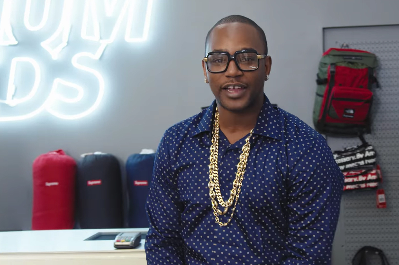 Cam'ron Goes 'Sneaker Shopping' and Talks Hooping in Pradas