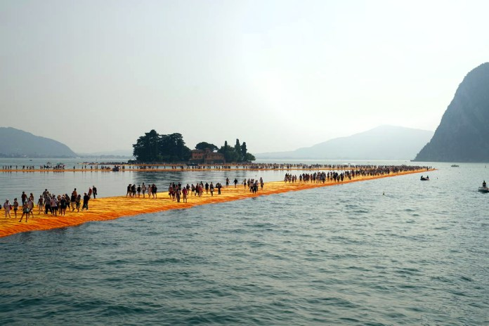 50 Years in the Making, Christo and Jeanne Claude's Floating Piers Is Already Gone