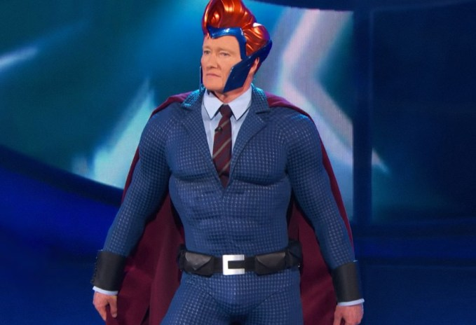 Conan Takes Us Behind the Scenes in Designing His Comic-Con Super Suit