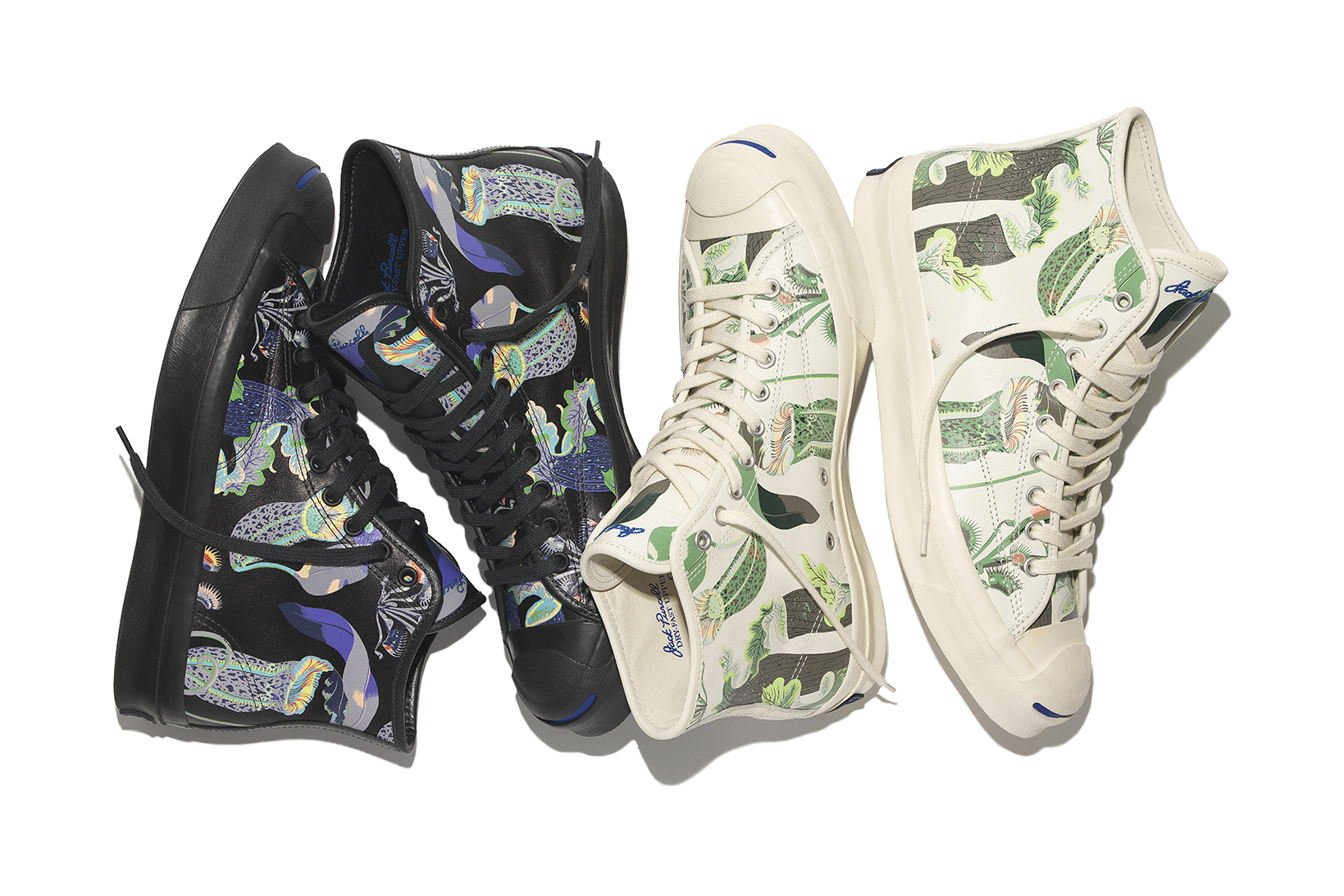 Converse Decorates the Jack Purcell in Carnivorous Botanicals