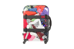 Bare All Your Belongings With the Crumpler Vis-A-Vis Transparent Suitcase