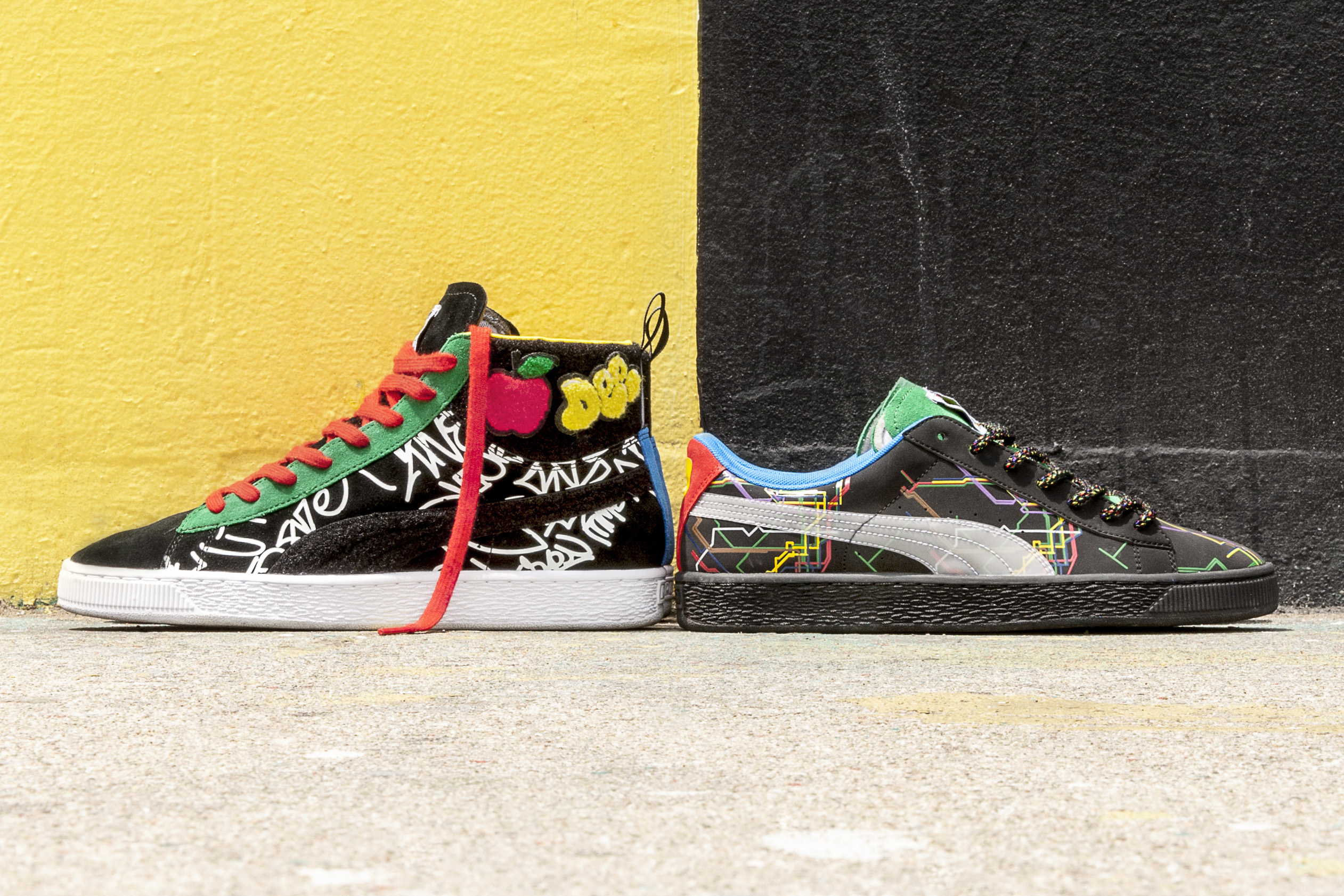 Dee & Ricky Team up With PUMA for a NYC-Inspired Collection