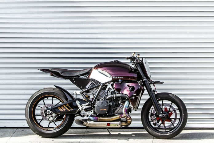 "Deus Ex Machina Transforms the KTM RC8 Into ""The Scrappier"""