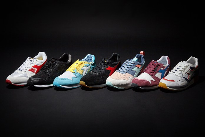 Diadora Teams up With Seven Premier Sneaker Stores for an Epic Collaboration