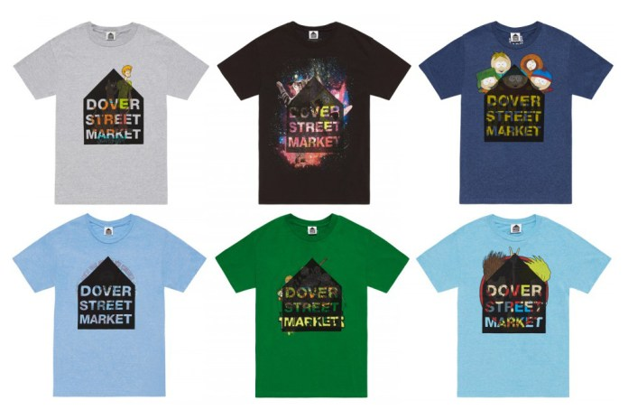 Dover Street Market Drops a Line of Vintage Cartoon Tees