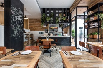 Elephant Grounds Debuts an Airy Nature-Inspired Space in the Heart of Hong Kong's Concrete Jungle