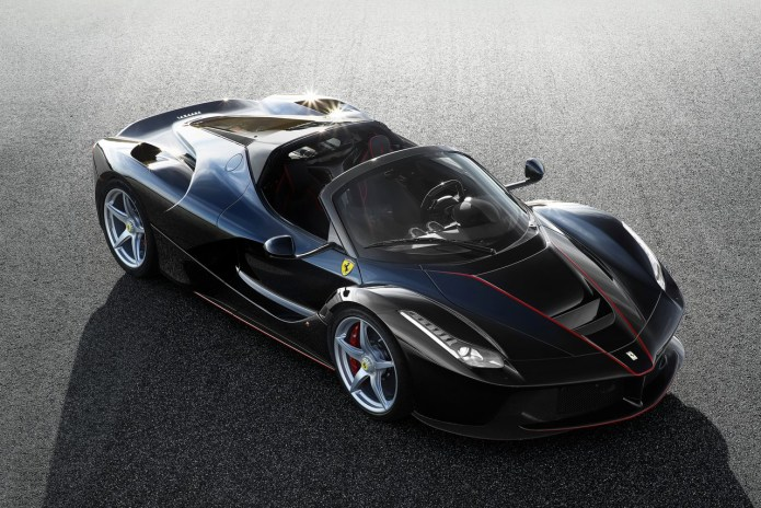 Ferrari Unveils the $1.4 Million USD LaFerrari Spider