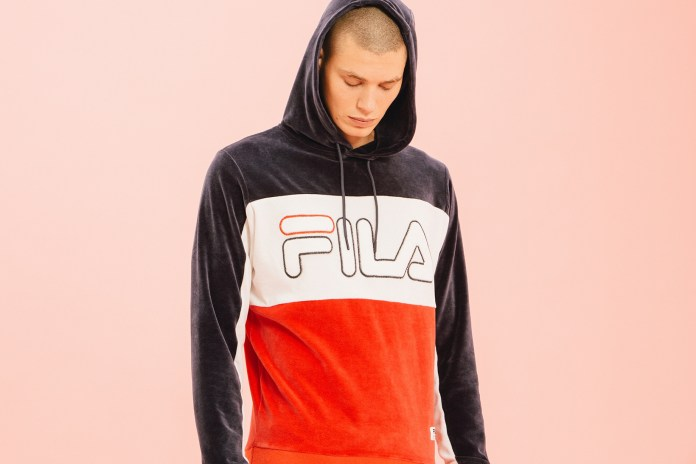 FILA Black Line Reflects on the Past in This Seasonal Offering