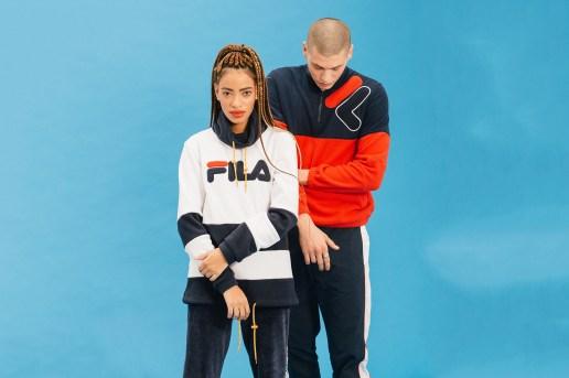 FILA Black Line Revisits '90s Sportswear for 2016 Fall/Winter