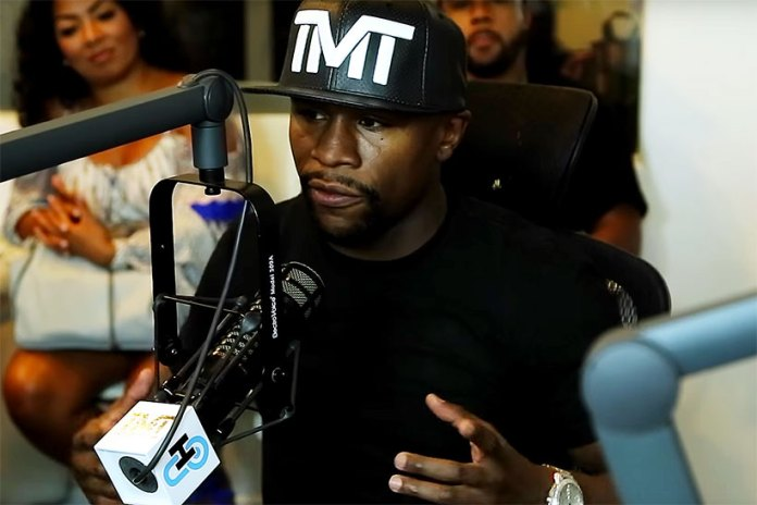 Floyd Mayweather Jr. Thinks He's Too Rich to Wear Jordans