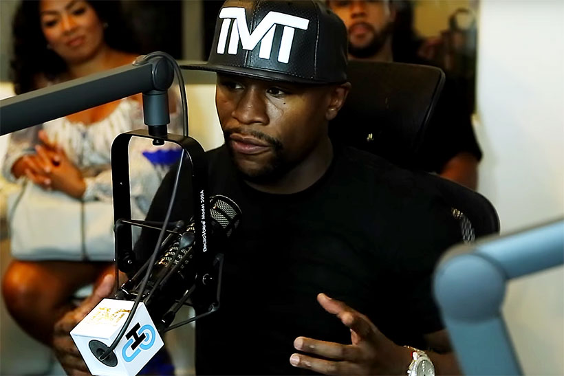 Floyd Mayweather Jr. Thinks He's Too Rich to Wear Jordans