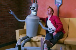 Someone Made the Real-Life 'Futurama' Trailer We Have All Been Waiting For