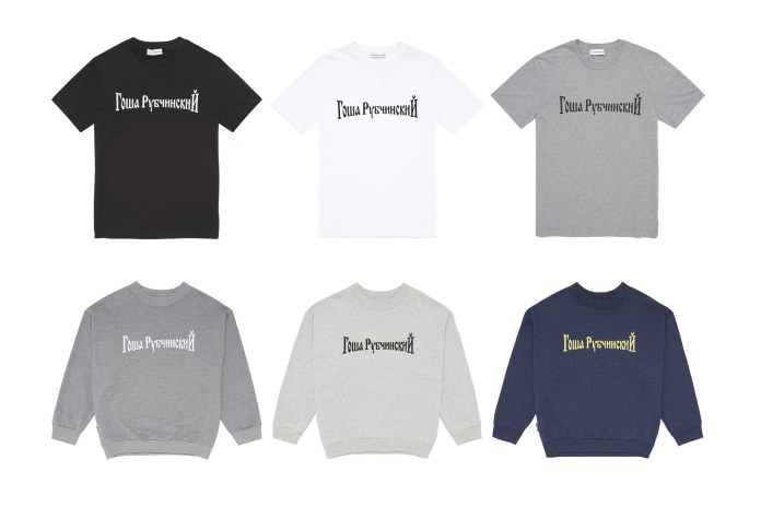 Gosha Rubchinskiy's First 2016 Fall/Winter Delivery Set to Drop at Dover Street Market London