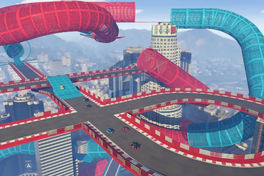 'GTA Online's Racing Feature Receives a Surreal and Over-the-Top Expansion