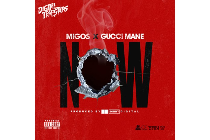 """Gucci Mane Joins Migos for the Sonny Digital-Produced Track """"Now"""""""