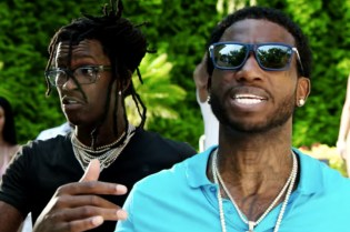 Gucci Mane and Young Thug Celebrate Guwop's Homecoming With a Pool Party
