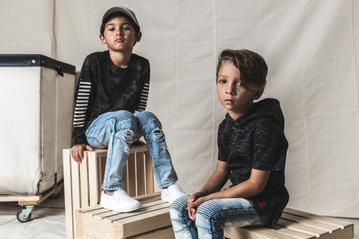 Haus of JR Collection Seven Lookbook Features Crisp Garments for the Kids