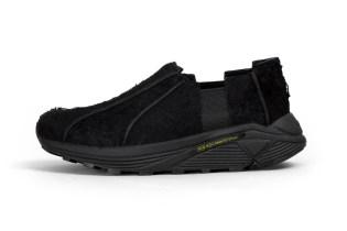 Hender Scheme's Murdered-Out Take on the Slip-On Sneaker